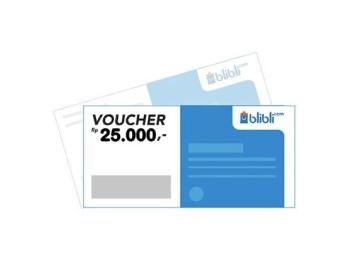 Voucher Blibli 25.000