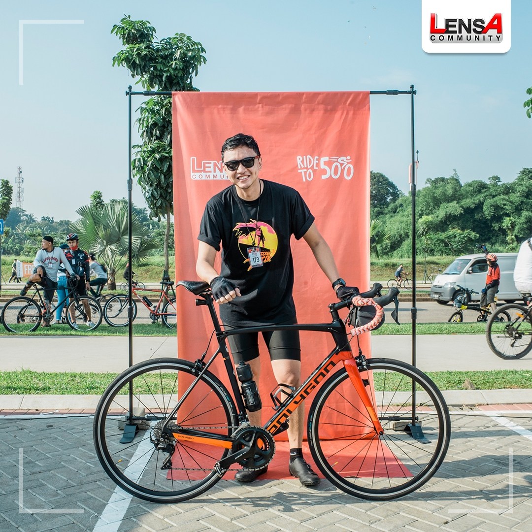 Lensa Community x The Cyclist - Road To 500