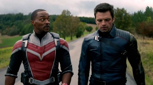 The Winter Soldier and the Falcon Cetak Rekor