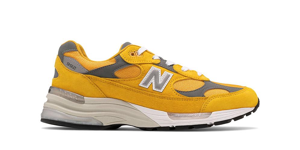 New Balance 992 Hadir Dalam Warna Kuning Mustard Lazone Id