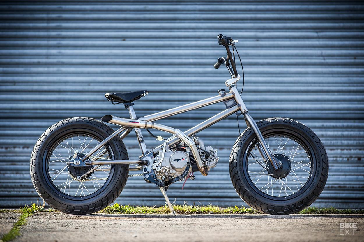 Fat Tracker Sepeda Yang Disulap Jadi Motor Lazone Id